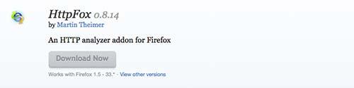 Complementos de Firefox HTTPFox