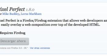 Complementos de Firefox Pixel Perfect