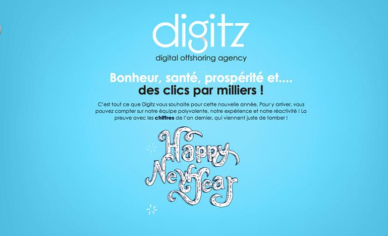 Pantallazo de la web Digitz