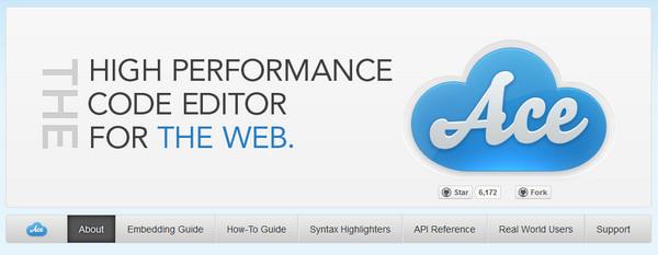 Editor HTML Ace