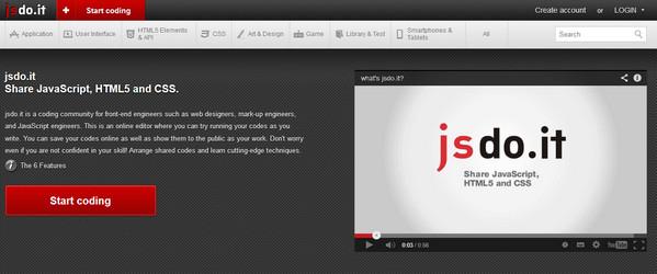 Editor HTML jsdo