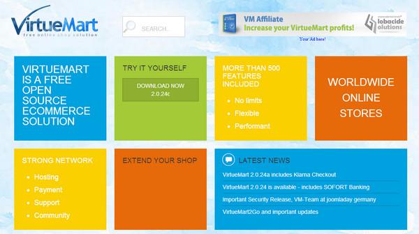 Framework VirueMart