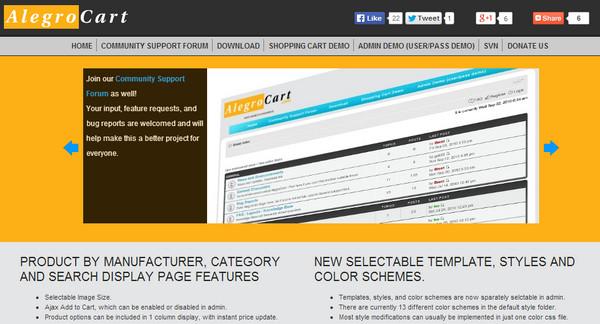Framework Alegro Cart