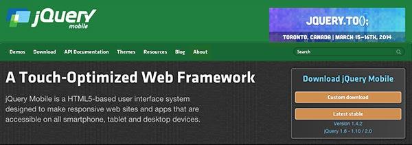 framework-jquery-mobile