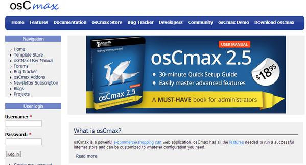 Framework  osCMax