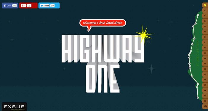 Pantallazo de web Higway One