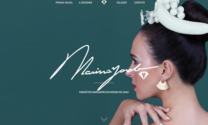 Pantallazo de web Marina Zardo