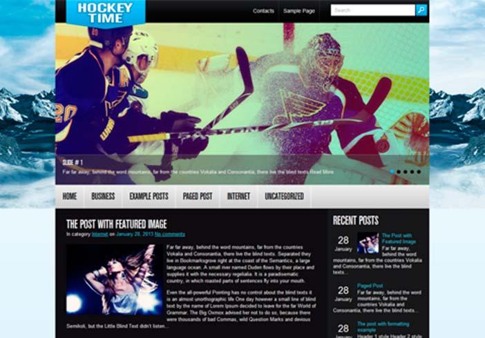 Temas Wordpress para sitios web dedicados al deporte