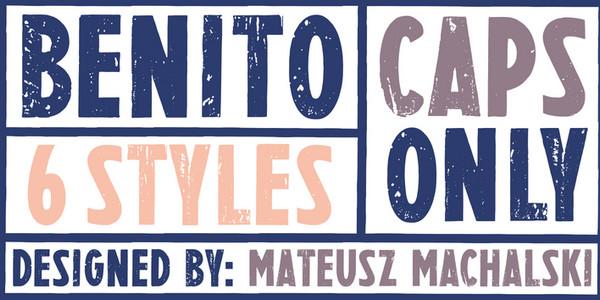 Tipografia Web Benito