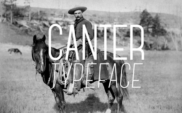 Tipografia Web  Canter Typeface