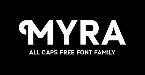 Tipografia Web Myra