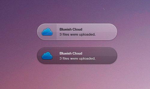 Archivos PSD Cloud Growl