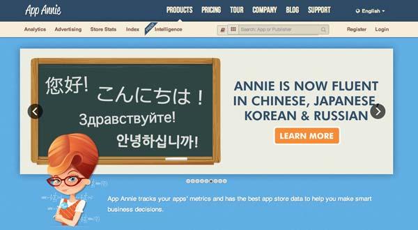 Herramienta para crear iOS app: App Annie