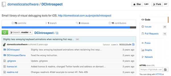Herramienta para crear iOS app: DCIntrospect