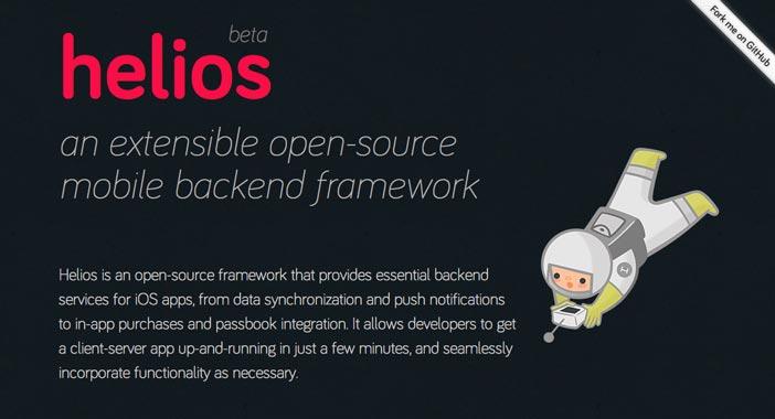Herramienta para crear iOS app: Helios