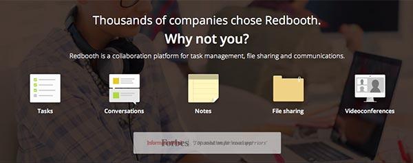 Crear páginas web: Herramienta de colaboración en línea Redbooth