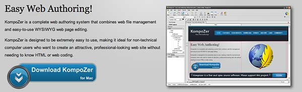 CSS editor Kompozer