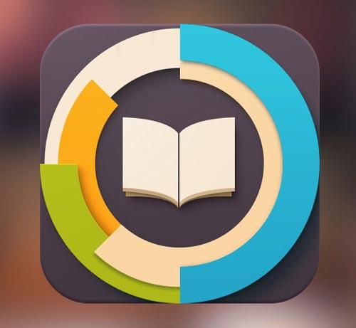 Diseño de iconos en el de desarrollo de aplicaciones móviles: BookTracker