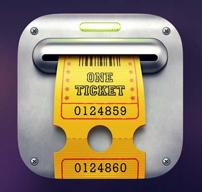 Diseño de iconos en el de desarrollo de aplicaciones móviles: Slot Machine