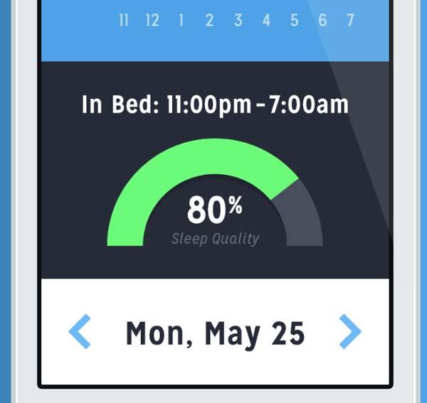 Ejemplos de desarrollo de aplicaciones móviles: Sleeply App