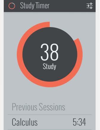Ejemplos de desarrollo de aplicaciones móviles: Study Timer