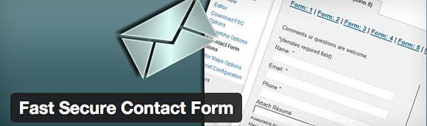 Plugin WordPress Fast Secure Contact Form