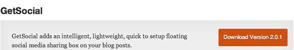 Plugin WordPress Get social