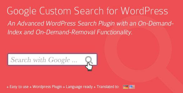 Plugin WordPress Google Custom Search