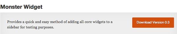 Plugin WordPress Monster Widget