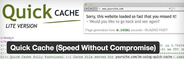 Plugin WordPress Quick Cache