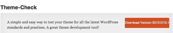 Plugin WordPress Theme Check
