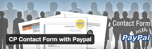 Plugin WordPress Contact Form with PayPal