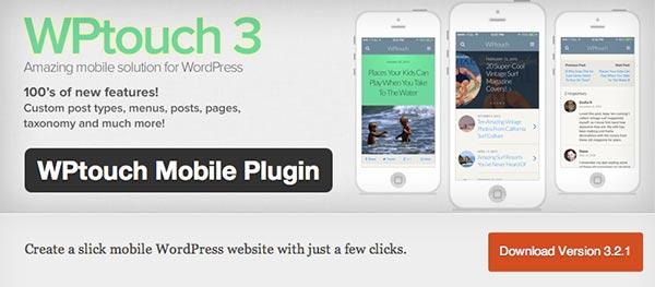 Plugin WordPress WPTouch 3