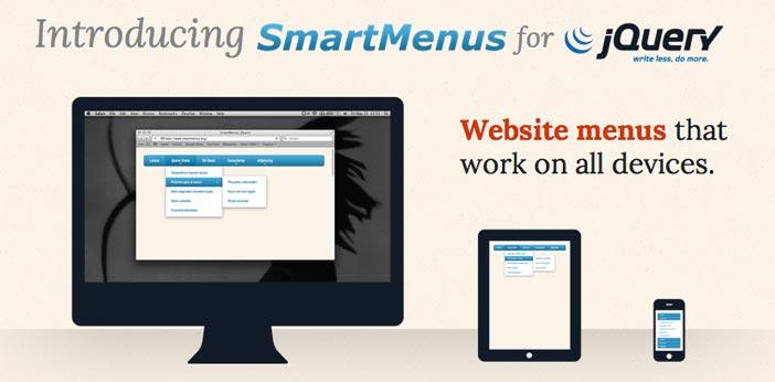 Programas para hacer paginas web adaptables: SmartMenus