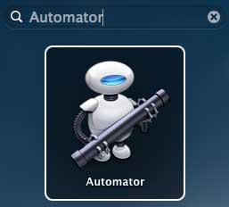 Programas para MAC: Automator