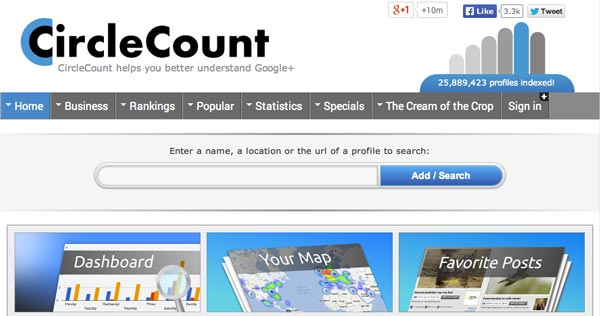 Herramientas de SEO Marketing: CircleCount
