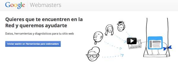 Herramientas de SEO Marketing: Google Webmasters