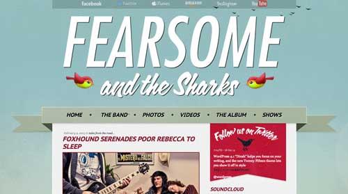 Temas WordPress para sitios web dedicados a la música: IndieFest