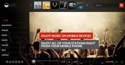Temas Wordpress para sitios dedicados a la música