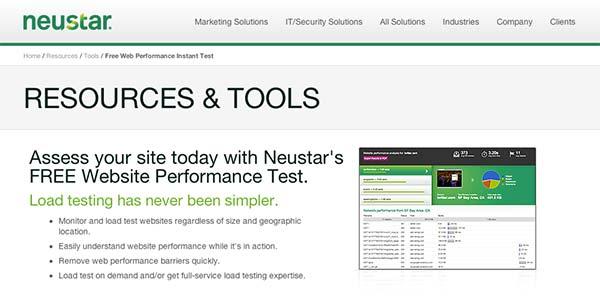 Herramienta para medir tiempo de respuesta Neustar