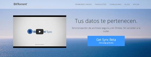 Aplicación para crear tu propio servicio de almacenamiento en la nube: BitTorrent Sync