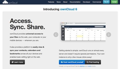 Aplicación para crear tu propio servicio de almacenamiento en la nube: Owncloud