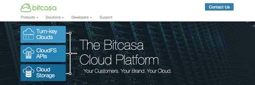 Servicio de almacenamiento en la nube Bitcasa