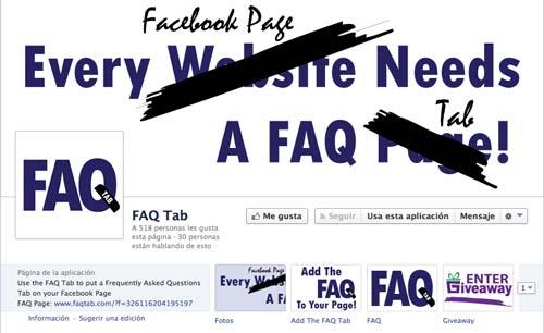 Aplicaciones de Facebook para páginas corporativas: