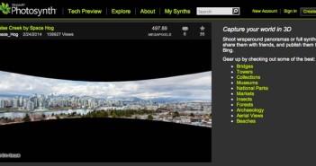 Aplicaciones para Windows Phone - Fotos panorámicas: Photosynth