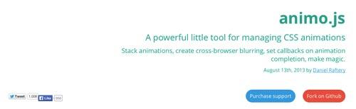 Generador de codigo CSS Animo.js