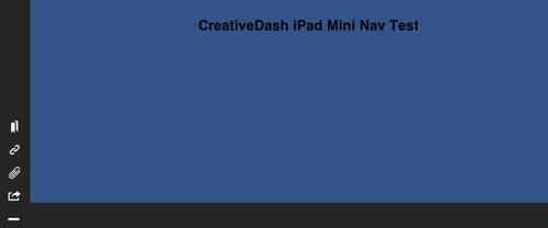 Codigo HTML para CreativeDash iPad Mini