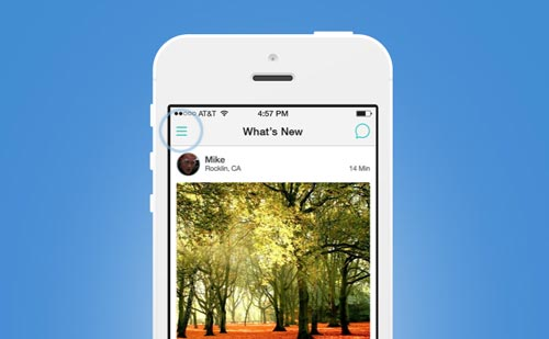 Codigo HTML para Social App