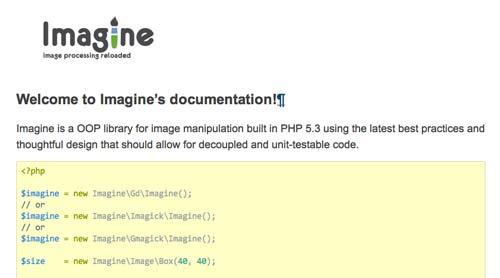 Librería de código PHP para editar imágenes Imagine