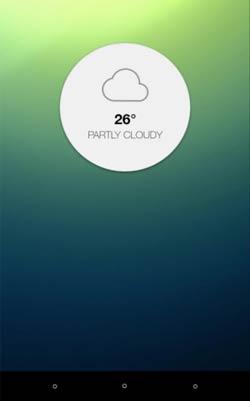 Crear aplicaciones para Android - Ejemplos: Clear Condition HD